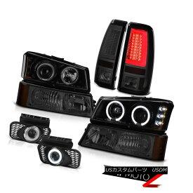 テールライト 2003-2006 Silverado Taillights Signal Light Fog Lamps Headlamps LED Dual Halo 2003-2006シルバラード・ティアライトシグナル・フォグ・ランプヘッドランプLEDデュアル・ヘイロー