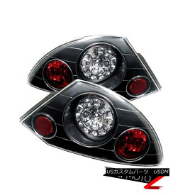 テールライト 00-02 MIT Eclipse GT/RS/SPYDER Left+Right Ultra Bright LED Tail Light Brake Lamp 00-02 MIT Eclipse GT / RS / SPYDER左+右ウルトラブライトLEDテールライトブレーキランプ