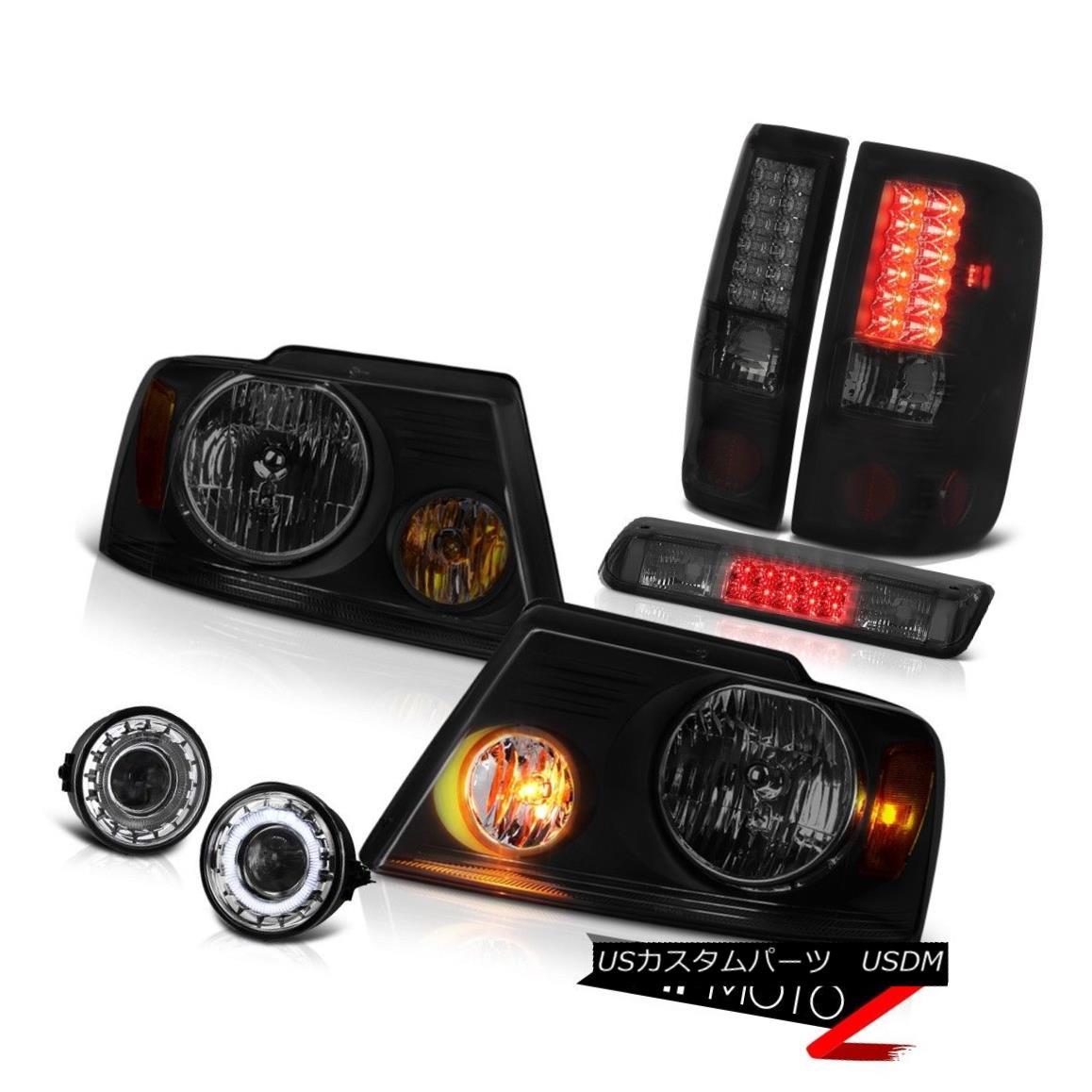 テールライト 06 07 08 Ford F150 FX4 Fog Lights High Stop Light Headlights Taillamps OE Style 06 07 08フォードF150 FX4フォグライティングハイストップライトヘッドライトテールランプOEスタイル