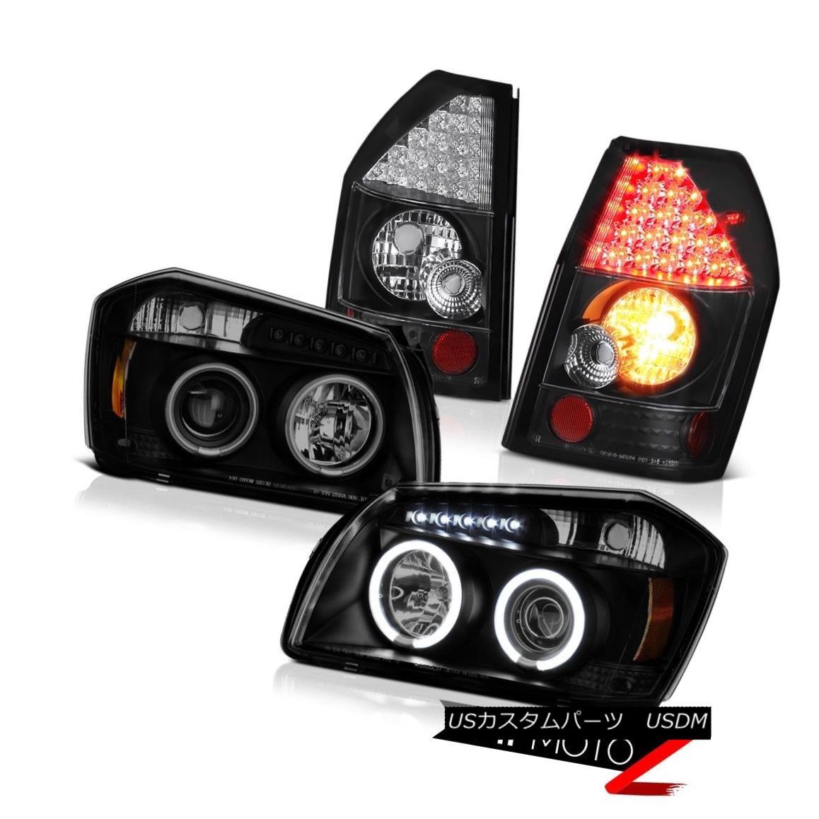 テールライト 05 06 07 Dodge Magnum Se Inky Black Rear Brake Lamps Sinister Headlamps LED SMD 05 06 07 Dodge Magnum Se Inky BlackリアブレーキランプSinisterヘッドランプLED SMD