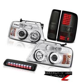 テールライト 2004-2008 Ford F150 FX4 Phantom Smoke 3RD Brake Light Tail Lights Headlamps SMD 2004-2008フォードF150 FX4ファントムスモーク3RDブレーキライトテールライトヘッドランプSMD
