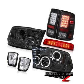 テールライト 13-18 Ram 1500 Express High Stop Lamp Fog Lamps Taillamps Headlamps Dual Halo 13-18ラム1500エクスプレスハイストップランプフォグランプタイルランプヘッドランプデュアルヘイロー