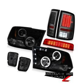 テールライト 2013-2018 Ram 1500 SpoRT 3RD Brake Lamp Fog Lights Parking Headlamps Dual Halo 2013-2018 Ram 1500 SpoRT 3RDブレーキランプフォグライトパーキングヘッドランプデュアルヘイロー