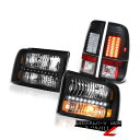 テールライト [Beast Black] Replacement Headlights LED Bulbs Tail Lamps 2005-2007 F250 Lariat [ビーストブラック…