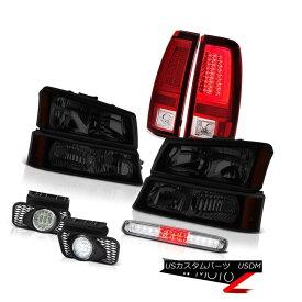 """テールライト 03-06 Silverado Red Taillights Headlamps High Stop Lamp Foglamps """"Lava Tube"""" LED 03-06シルバラードレッドティアライツヘッドランプハイストップランプフォグランプ """"Lava Tube"""" LED"""