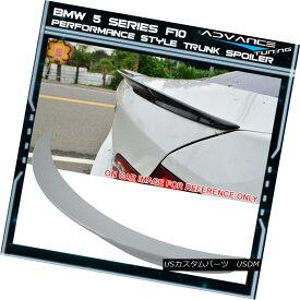 エアロパーツ 11-16 F10 5 Series Trunk Spoiler OEM Painted Color Alpine White #300 11-16 F10 5シリーズトランク・スポイラーOEM塗装カラーアルパイン・ホワイト#300