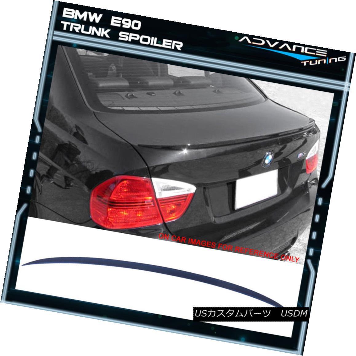 エアロパーツ 06-11 BMW E90 M3 Style Painted #A07 Mystic Blue Metallic Trunk Spoiler - ABS 06-11 BMW E90 M3スタイル塗装#A07ミスティックブルーメタリックトランクスポイラー - ABS