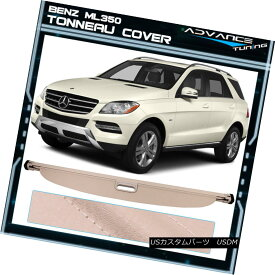 エアロパーツ For 12-15 Mercedes-Benz ML Series ML350 Beige Tonneau Cover Cargo Cover 12-15 Mercedes-Benz MLシリーズML350ベージュトノーカバーカーゴカバー