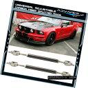 エアロパーツ For Mustang Carbon Fiber Splitter Rod Strut Support Stabalizer Adjustable 5.5-8 ムスタングカーボ…