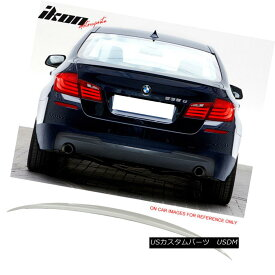 エアロパーツ Fits 11-16 BMW 5 Series F10 Sedan M5 Trunk Spoiler Painted #300 Alpine White III フィット11-16 BMW 5シリーズF10セダンM5トランク・スポイラー#300アルパイン・ホワイトIII