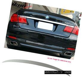 エアロパーツ Fits 09-15 BMW 7 Series F01 AC Style Painted Trunk Spoiler #300 Alpine White III フィット09-15 BMW 7シリーズF01 ACスタイル塗装トランクスポイラー#300アルパインホワイトIII