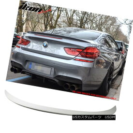 エアロパーツ Fit 12-17 BMW 6 Series F13 M6 Style Trunk Spoiler Painted #300 Alpine White III フィット12-17 BMW 6シリーズF13 M6スタイルトランクスポイラー#300アルパインホワイトIII