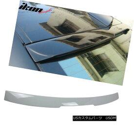 エアロパーツ Fits 04-10 BMW E60 5 Series AC Style Painted #300 Alpine White III Roof Spoiler フィット04-10 BMW E60 5シリーズACスタイル塗装#300アルパインホワイトIIIルーフスポイラー