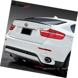 エアロパーツ Fits 08-14 BMW X6 E71 Performance Trunk Spoiler Painted #300 Alpine White III フィット8月14日BMW X6 E71パフォーマンストランクスポイラー#300アルパインホワイトIIIを塗装