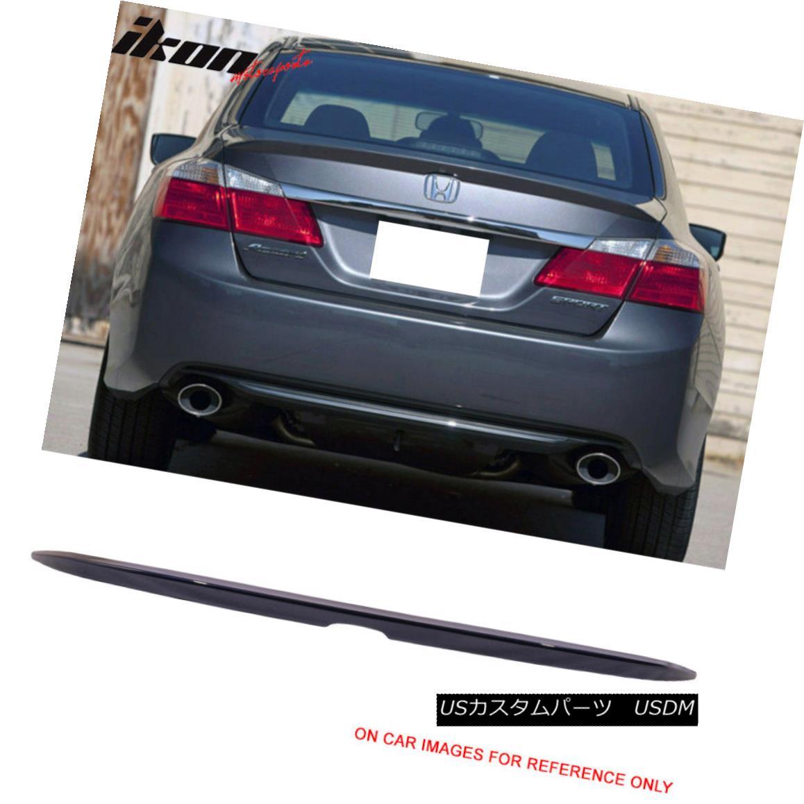 エアロパーツ Fits 13-16 Honda Accord OE Trunk Spoiler Wing Painted #B588P Obsidian Blue Pearl フィット13-16ホンダアコードOEトランク・スポイラー・ウィング#B588P黒曜石