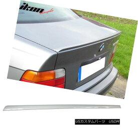 エアロパーツ 99-05 BMW 3 Series E46 4Dr Painted #300 Alpine White III Trunk Spoiler 99-05 BMW 3シリーズE46 4Drペイント#300アルパインホワイトIIIトランク・スポイラー