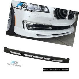 エアロパーツ Fit 13-15 BMW 7-Series F01 F02 LCI AP Alpina Style Front Bumper Lip Spoiler フィット13-15 BMW 7シリーズF01 F02 LCI APアルピナスタイルフロントバンパーリップスポイラー