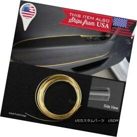 エアロパーツ Gold champagne Stripe Trim Line Insert For Honda Acura Console Dashboard Panel ゴールドシャンパンストライプトリムラインインサートホンダアキュラコンソールダッシュボードパネル用