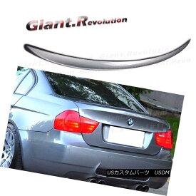 Fit For BMW 3-Series E90 Sedan OE Type Trunk Rear Boot Spoiler 06-11 328i M3