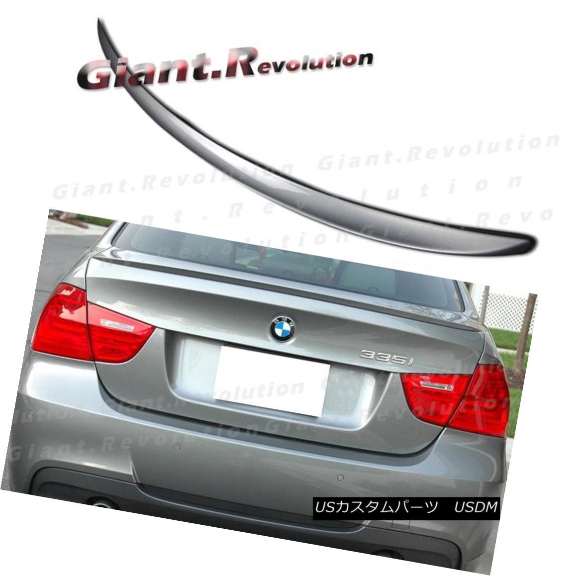 エアロパーツ #A52 Space Gray M3 Type Trunk Spoiler For BMW E90 323i 328i 335d Sedan Rear Boot #A52スペースグレーM3タイプのトランク・スポイラー、BMW E90 323i 328i 335dセダンリア・ブーツ