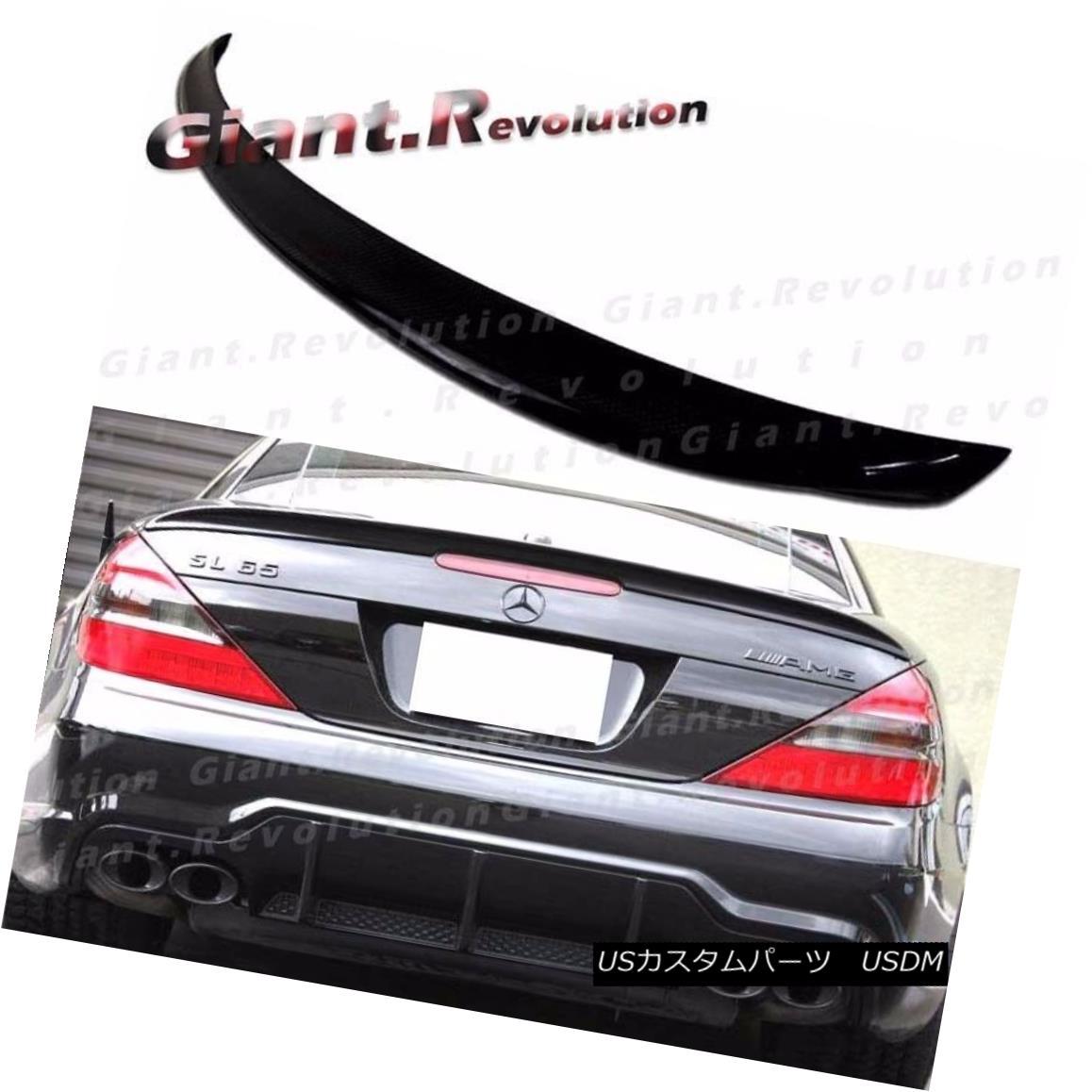 エアロパーツ #197 Obsidian Black 03-11 M BENZ R230 A Type Trunk Deck Spoiler SL500 SL600 SL55 #197 Obsidian Black 03-11 MベンツR230 AタイプトランクデッキスポイラーSL500 SL600 SL55