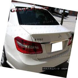 エアロパーツ Painted 10-16 BENZ W212 E-Class E350 E500 E550 Sedan A Type Rear Trunk Spoiler 塗装済み10-16 BENZ W212 EクラスE350 E500 E550セダンAタイプ後部トランク・スポイラー
