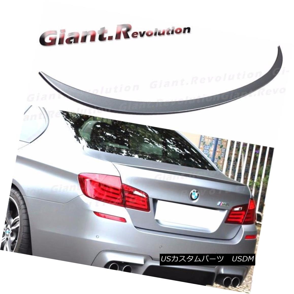 エアロパーツ #A52 Space Gray M Style Trunk Spoiler For BMW 11-16 F10 528i 535i 520i Deck Lids #A52スペースグレーMスタイルのトランク・スポイラー、BMW用11-16 F10 528i 535i 520iデッキ・フード