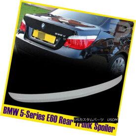 エアロパーツ Painted Spoiler #300 Alpine White BMW 5-Series E60 Saloon Boot Rear Wing ペイントスポイラー#300アルパインホワイトBMW 5シリーズE60サルーンブートリアウイング
