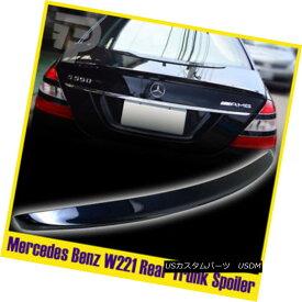 エアロパーツ Painted Mercedes Benz S-Class W221 Sedan Rear Spoiler Trunk 890 Cavansitblau ペイントされたメルセデスベンツSクラスW221セダンリアスポイラートランク890 Cavansitblau