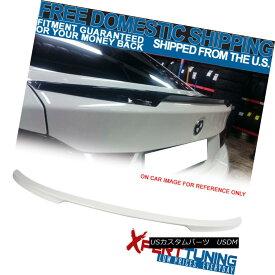 エアロパーツ 14-18 F36 4 Series Gran Rear Trunk Spoiler Painted # 300 Alpine White III 14-18 F36 4シリーズグランリアトランク・スポイラー#300アルパイン・ホワイトIII