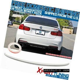 エアロパーツ FIT For 12-18 BMW 3 Series F30 Trunk Spoiler Painted Alpine White III #300 12-18 BMW 3シリーズF30トランク・スポイラー用塗装アルパイン・ホワイトIII#300用FIT
