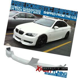 エアロパーツ Fits 07-10 BMW E92 E93 3-Series M-TECH Msport Front Lip # 300 Painted Alpine WT フィット07-10 BMW E92 E93 3シリーズM-テックMsportフロントリップ#300塗装アルパインWT
