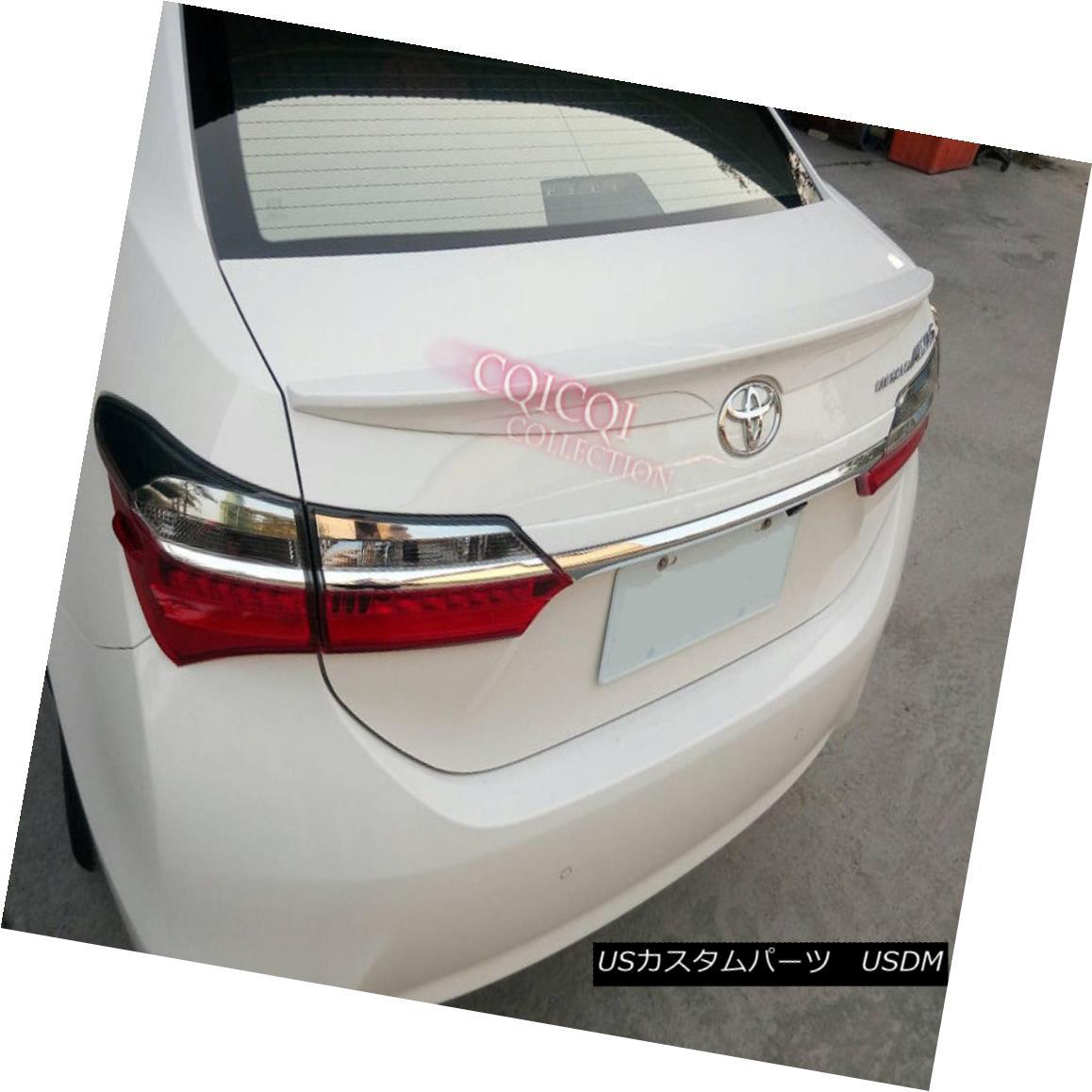 エアロパーツ Painted trunk spoiler for TOYOTA 13-17 corolla sedan altis E170 color:040 white◎ TOYOTA 13-17花輪セダンアルティスE170の塗装トランク・スポイラーの色:040白?