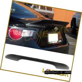エアロパーツ Fits 13-17 Subaru BRZ Scion FRS Carbon Fiber TR-D STYLE Trunk Rear Wing Spoiler フィット13-17スバルBRZサイオンFRSカーボンファイバーTRD STYLEトランクリアウィングスポイラー
