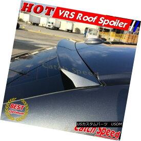 エアロパーツ Flat Black VRS Rear Roof Spoiler Wing For 2011-2014 Hyundai Sonata YF 6th Sedan 現代ソナタYF第6世代フラットブラックVRSリアルーフスポイラーウイング