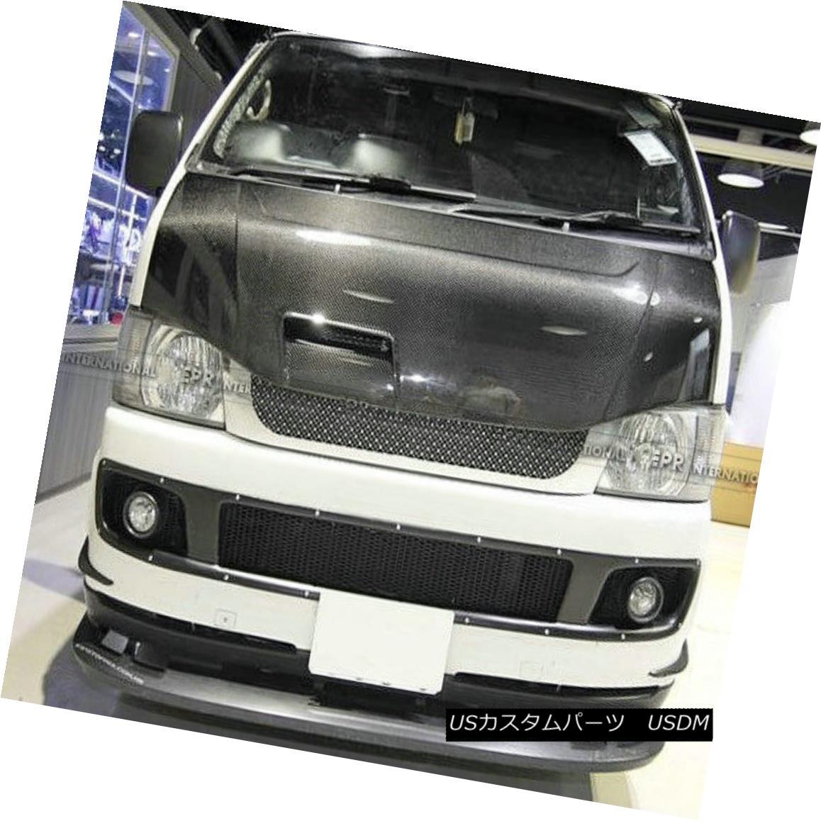 エアロパーツ ABCest Vented Hood Bonnet Body Kit For Toyota 2010 Hiace 200 Carbon Fiber Racing トヨタ2010ハイエース200カーボンファイバーレーシング用ABCest Vented Hoodボンネットボディキット