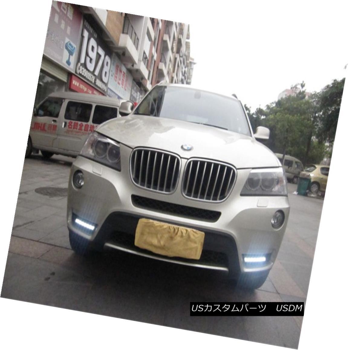 エアロパーツ DRL LED Driving Daytime Running Lights/Lamp For BMW X3 F25 2009-2013 BMW X3 F25 2009-2013用DRL LEDデイリーランニングライト/ランプの駆動