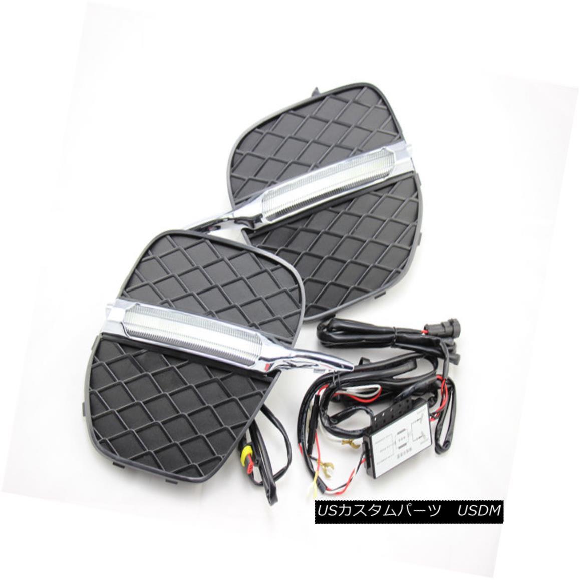 エアロパーツ DRL For BMW X5 E70 E70LCI 2011-2013 LED Driving Daytime Running Light/Lamp BMW X5 E70 E70LCI 2011-2013のためのDRL日中走行ランプ/ランプを駆動するLED