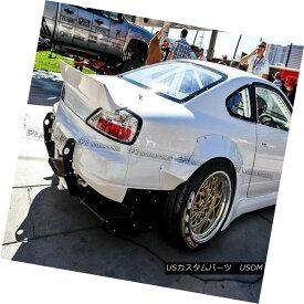 エアロパーツ Rear Trunk Spoiler Duckbill Wing Kit For Nissan Silvia 200SX S15 RB FRP Fiber 日産シルビア200SX S15 RB FRPファイバー用リアトランクスポイラーダックビルウイングキット