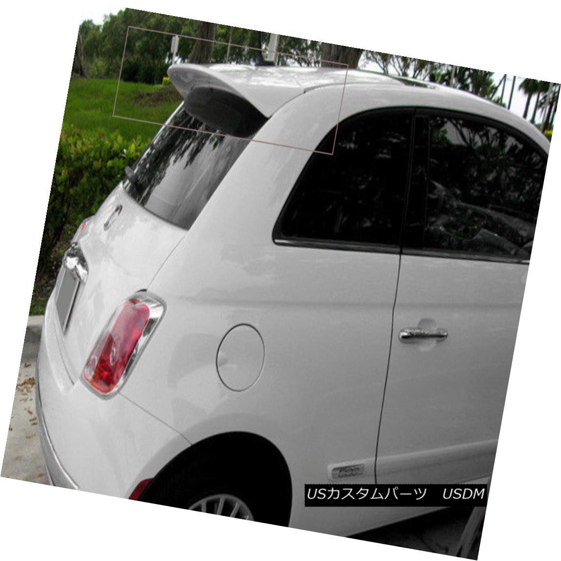 エアロパーツ FIAT 500 (from 2007) ABARTH LOOK REAR ROOF /TRUNK / SPOILER FIAT 500(2007年より)ABARTH LOOK REAR ROOF / TRUNK / SPOILER
