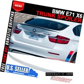 エアロパーツ 08-14 BMW X6 E71 5DR P Style Painted #300 Alpine White III Trunk Spoiler - ABS 08-14 BMW X6 E71 5DR Pスタイル塗装#300アルパインホワイトIIIトランクスポイラー - ABS