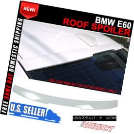 エアロパーツ 04-10 BMW E60 5 Series AC Style Painted #300 Alpine White III Roof Spoiler 04-10 BMW E60 5シリーズACスタイル塗装#300アルパインホワイトIIIルーフスポイラー