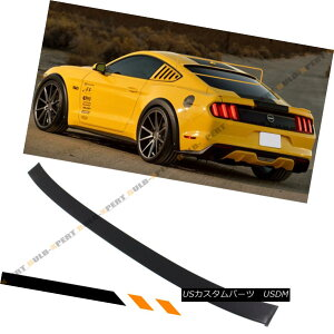 エアロパーツ For 2015-17 Ford Mustang S550 GT Rear Window Roof Spoiler Wing- Unpainted Primer 2015-17 Ford Mustang S550 GTリアウィンドウルーフスポイラーウィング未塗装のプライマー