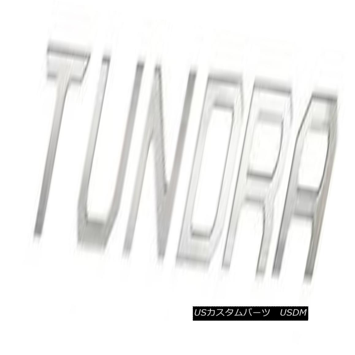 USグリル Fits 2014-15 Toyota Tundra Accent Letters T-U-N-D-R-A CCITUNDRA01S 2014-15 Toyota Tundraアクセント記号T-U-N-D-R-A CCITUNDRA01S