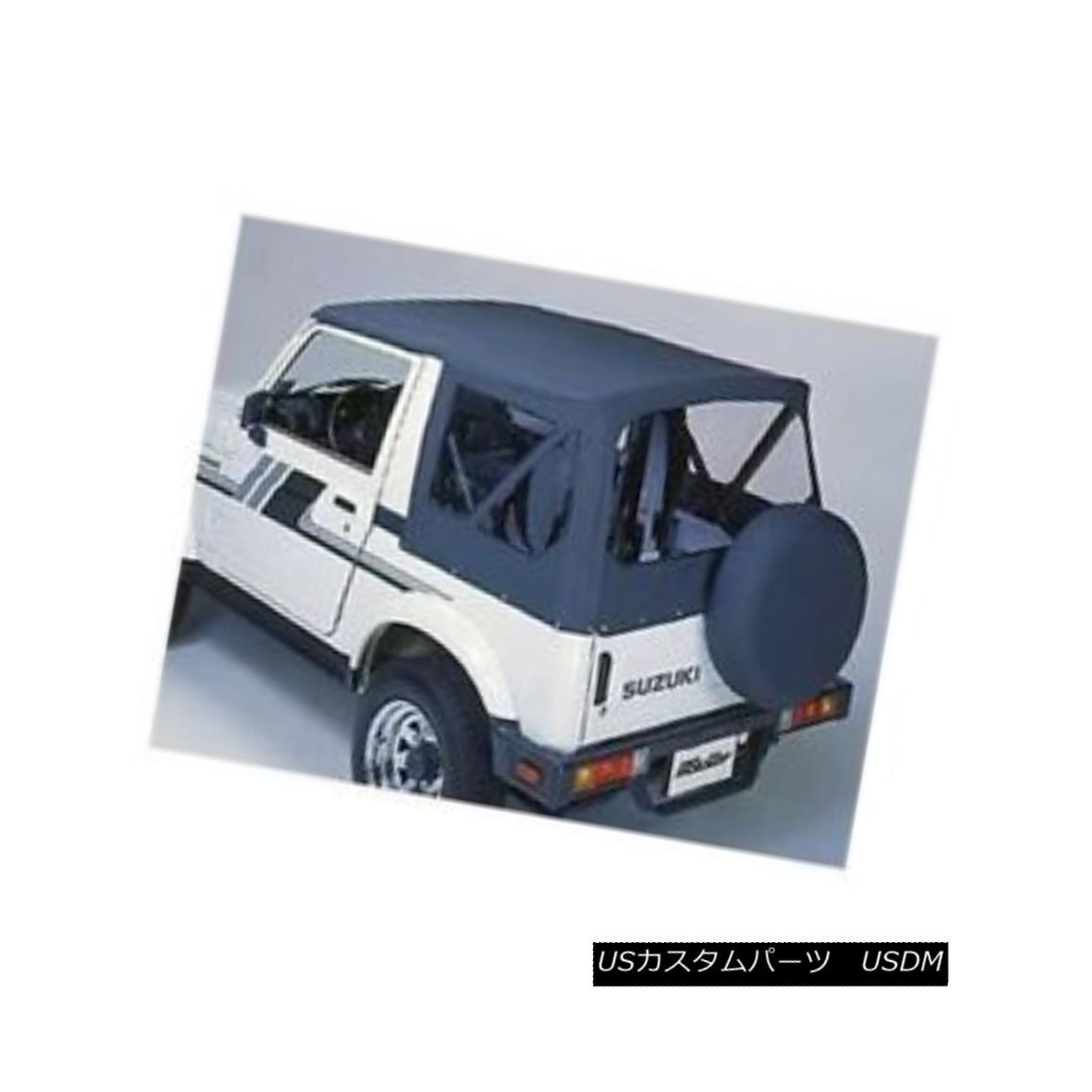 幌・ソフトトップ Bestop 51361-01 Soft Top Replace-A-Top Polymer Cloth Black for Suzuki Samurai Bestop 51361-01スズキサムライ用ソフトトップリプレイストップポリマークロス