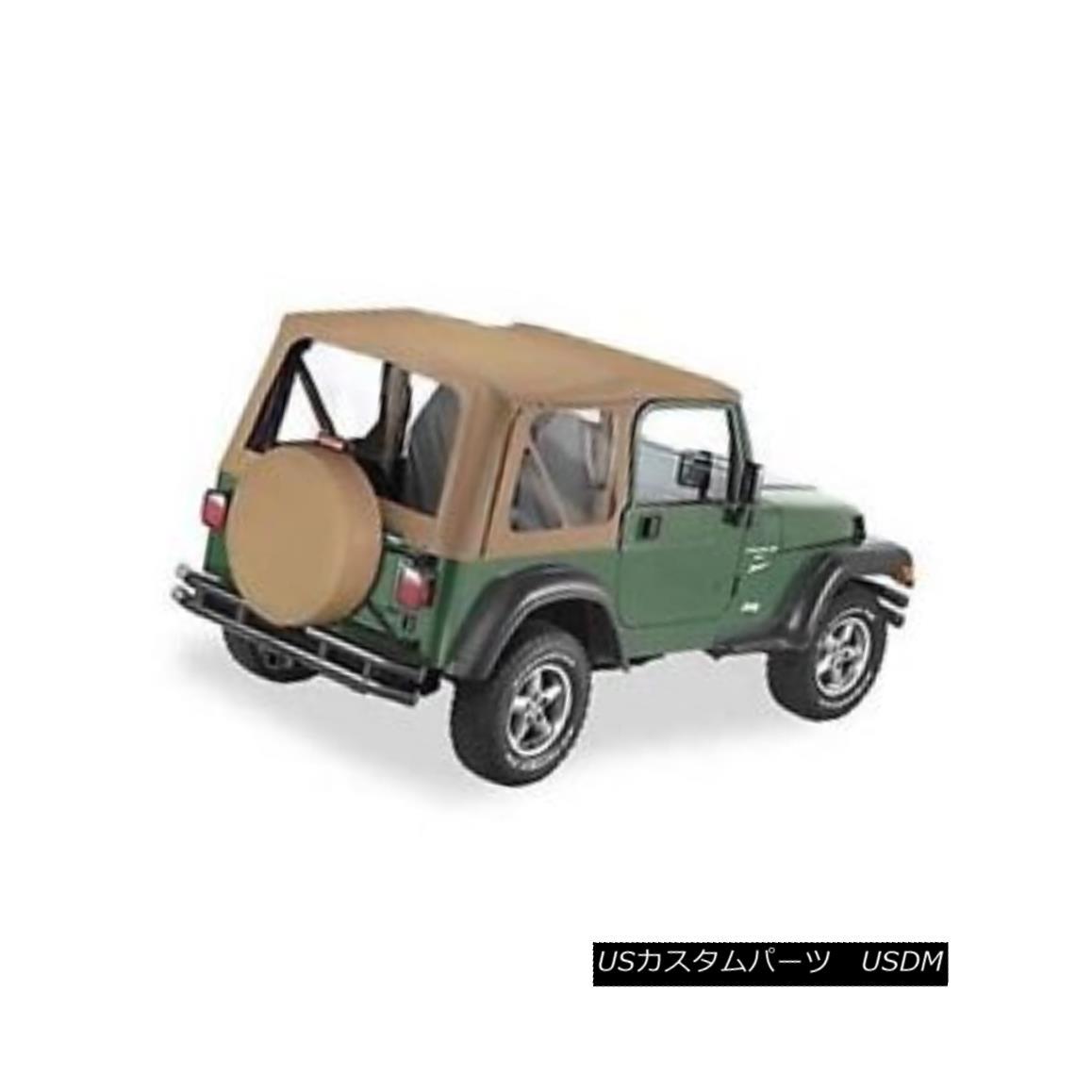幌・ソフトトップ Bestop 51127-37 Soft Top Replace-A-Top Polymer Cloth Spice for 1997-2002 Jeep Bestop 51127-37ソフトトップ交換用トップポリマー衣類スパイス1997-2002ジープ