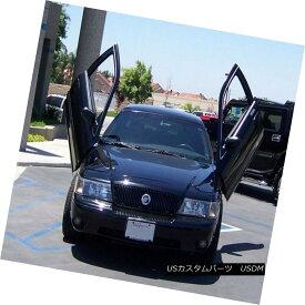 ガルウィングキット Vertical Doors Inc. Bolt-On Lambo Kit for Ford Crown Victoria 98-10 垂直ドアーズフォードクラウンビクトリア98-10用のボルトオンランボルギーニキット