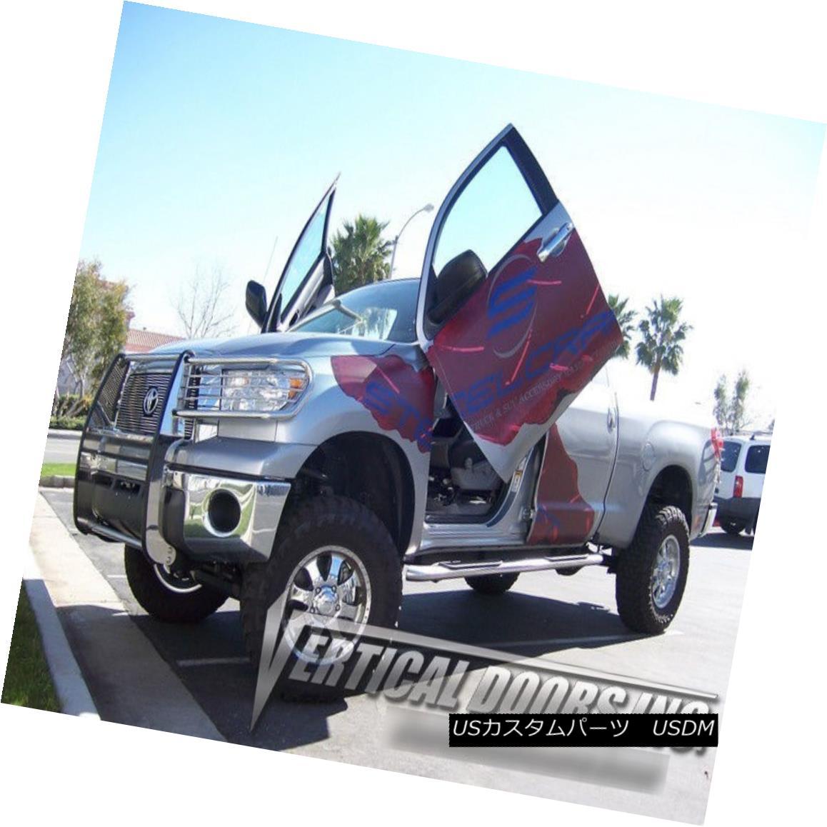 ガルウィングキット Vertical Doors Inc. Bolt-On Lambo Kit for Toyota Tundra 07-10 Vertical Doors Inc.トヨタ・トンドラのボルトオン・ランボキット07-10