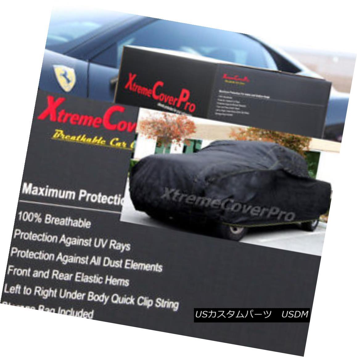 カーカバー 2013 Ford F150 SuperCab 8ft bed Breathable Car Cover 2013年フォードF150スーパーキャブ8ftベッド通気性車カバー