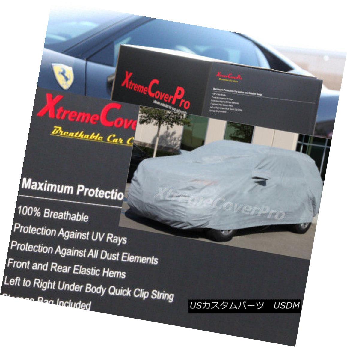 カーカバー BREATHABLE CAR COVER W/MIRROR POCKET-GREY FOR 2018 2017 2016 2015 NISSAN ROGUE 2018年のBIRATHABLE CAR COVER W / MIRROR POCKET-GRAY 2017 2016 2015日産自動車